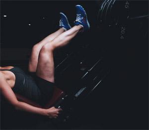 sportschool vrouw